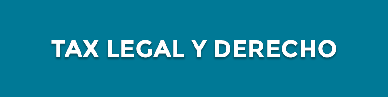 sector tax legal derecho