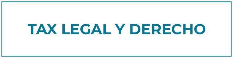 tax legal y derecho